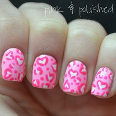 Pink & Polished: Have a little heart will ya?