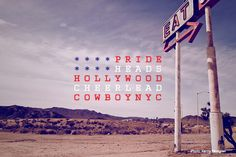National Stereotypes as Typographical Flags by Kirill Zaytsev  usa