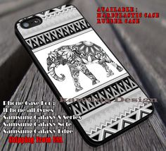 Elephant Colorfull Tribal Art iPhone 6s 6 6s  6plus Cases Samsung Galaxy s5 s6 Edge  NOTE 5 4 3 #art ii