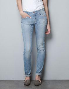 SLIM JEANS - Jeans - TRF - ZARA Israel