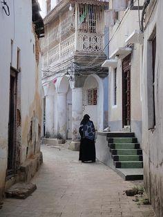 Stone Town, Zanzibar, Tanzania. May not look like much but was one of my favorite parts of Tanzania.