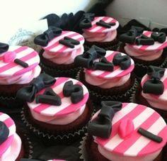 victoria secret cupcakes... ideas for victoria secret themed bridal shower order