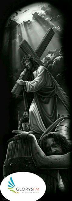 Jesus my Lord and Savior Wörter Tattoos, Body Art Tattoos, Sleeve Tattoos, Jesus Tattoo Sleeve, Christus Tattoo, Jesus Drawings, Pictures Of Jesus Christ, Foto Transfer, Jesus Art