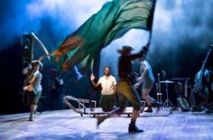Swallows and Amazons in Bristol at The Old Vic - Christmas family theatre