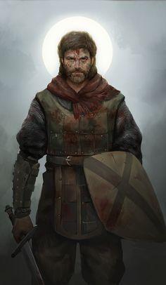 Rpg Character, Knight, Dark Fantasy, Medieval Fantasy Characters, Realistic Art, Knight Armor, Art Album, Fantasy Portraits, Human Male