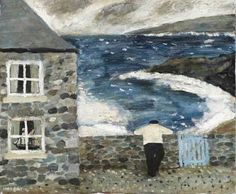 View The Blue Gate by Gary Bunt on artnet. Browse more artworks Gary Bunt from Portland Gallery. English Artists, British Artists, Naive Art, Whimsical Art, Beach Art, Painting & Drawing, Folk Art, Costa, Art Photography