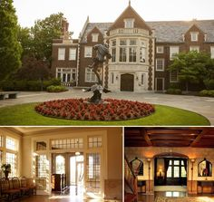 """The beautiful Harwelden Mansion in Tulsa, OK. Built in 1923 by Earl Palmer Harwell, when Tulsa was the """"Oil Capital of the World"""". Looks like it's straight out of the English countryside, doesn't it?"""