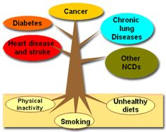 Noninfectious disease- is a disease that cannot pass from person to person. For example, you cannot catch lung cancer from another person. Two common causes of noninfectious diseases are: genetics, or traits inherited in your DNA from your biological parents, and environmental conditions, including lifestyle choices. #science #health
