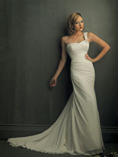 Style 8702 | Allure, White, mermaid, corset, Size 6 US$750 used