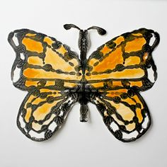 Monarch Butterfly Symmetry Art from Buggy and Buddy