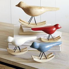 Rocking Birds//Westelm    Just ordered these online can wait for them to get here already! so cute!