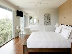 How to create a well designed bedroom master suite 2