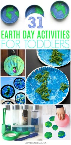 Need some Earth Day activities for toddlers? We've got all the inspiration you need with paper plate crafts, suncatchers, painting with rain plus worksheets, colouring pages and lots of gorgeous Earth Day sensory play ideas! Earth Day Activities for Kids Earth Day Activities, Spring Activities, Toddler Activities, Preschool Activities, Toddler Snacks, Preschool Printables, Toddler Art, Toddler Crafts, Kids Crafts