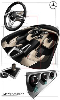 transportation design interior by Erwan BESANCON at Coroflot.com