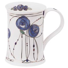 Dunoon Mugs - Cotswold Shape - Rothsay: Blue