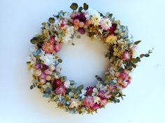 わっ!きれい!の画像1枚目 Dry Flowers, How To Preserve Flowers, Decoration, Florals, Floral Wreath, Bloom, Wreaths, Wedding, Dried Flowers
