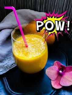 Mango, Papaya, Vanilla, Turmeric and Almond Milk Smoothie