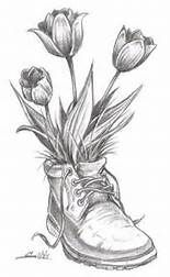 realistic drawings of flowers in black and white - Bing images