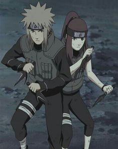 Kushina and Minato - Naruto