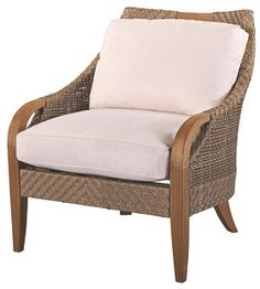 Lane Venture Edgewood Lounge Chair, Natural