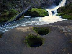 Pothole Waterfall - Lacamas Park, Vancouver, WA