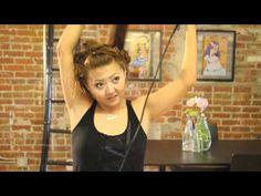 AMAZING video on roundbrush/pin curl hot victoria secret curls! Great results