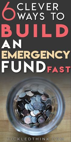 6 brilliant tips to help you Start & Build up an Emergency Fund Fast Wondering what it takes to pay off debt, stay debt-free and achieve financial security? Starting and building an emergency fund is Financial Peace, Financial Tips, Budgeting Finances, Budgeting Tips, Finance Organization, Savings Plan, Frugal Living Tips, Money Saving Tips, Managing Money