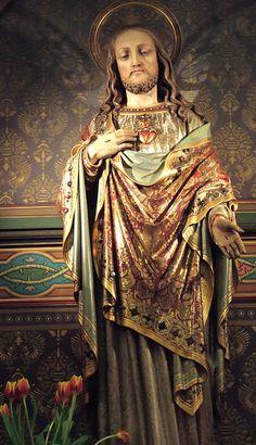 Jesus. The Roman Catholic Church of St Franciscus Xavierus, DeKrijtberg Amsterdam