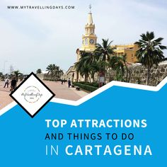 Top 5 Attractions And Things To Do In Cartagena - The Walled Town - Santo Domingo Square - Yellow Clock Tower - Square Plaza de la Aduana - Square San Pedro de Claver Yellow Clocks, Stuff To Do, Things To Do, Thessaloniki, Plaza, Travel Advice, Ecuador, Attraction, Adventure