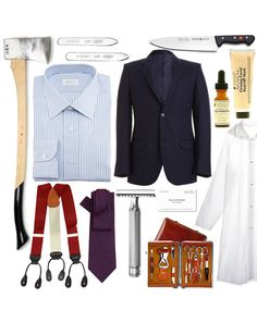 American Psycho/Patrick Bateman - Male Movie Characters for Halloween - Costume Ideas for Men: Style: GQ