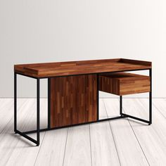 Sanor Desk | AllModern Contemporary Desk, All Modern, Office Furniture, Your Style, Cabinet, Storage, Home Decor, Clothes Stand, Homemade Home Decor