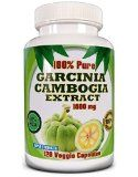 ★ Garcinia Cambogia Extract 1600mg - 120 Veggie Capsules - 100% Pure - *PREMIUM QUALITY!* ★ (60% More Strength Than Regular 1000mg Products) - Highest Potency - Get More For The Money! ★ No Artificial Ingredients -