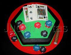Torta/cake. Poker