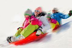 Sciare, pattinare, scivolare sulla neve!In montagna? Abetone? Dolomiti? No, a Firenze, sull'Arno!
