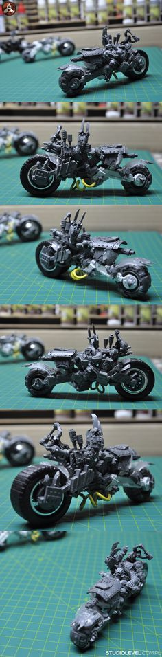 Deff Ork Boss Warbiker Conversion by StudioLevel [2015]