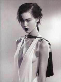 Model: Kolfinna Kristófersdóttir | Photographer: Jamie Morgan - for Pop Magazine, Spring & Summer 2012