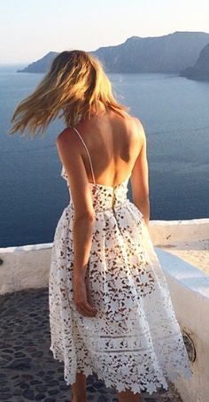 Pretty vacation dress