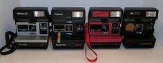 Polaroid Close Up Express 600 Supercolor Cool Cam Lot of 14 Instant Film Camera  #Polaroid