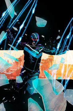 Vigilante: Southland cover by Mitch Gerads. Comic Book Artists, Comic Books Art, Comic Art, O Vigilante, Mitch Gerads, Dc Rebirth, Wally West, Batman Beyond, Young Animal
