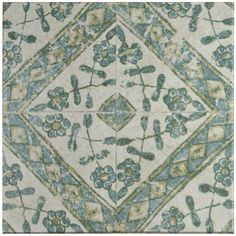 Merola Tile Klinker Retro Blanco Bergenia 12-3/4 in. x 12-3/4 in. Ceramic Floor and Wall Quarry Tile, Blanco/Medium Sheen