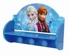 Appendiabiti Portalibri Mensola in Legno Frozen Disney Cameretta Bambina…