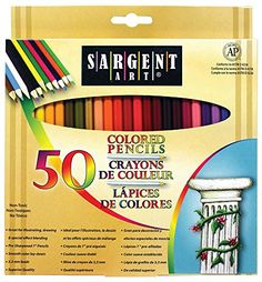 News Sargent Art 22-7251 Colored Pencils, Pack of 50, Assorted Colors   buy now     $10.81 Sargent Art 50-Count Assorted Colored Pencils are 7 inches long with 3.3 millimeter thick lead. Excellent colors for drawing a... http://showbizlikes.com/sargent-art-22-7251-colored-pencils-pack-of-50-assorted-colors/