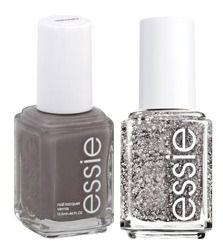 Celebrity Manicurist used essie Chinchilly + Ignite the Night Nail Polish on Anna Kendrick. Love this combo! #nails #nailpolish