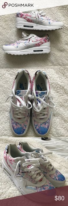 ff0f848f7257 Cherry Blossom Nike Air Max Worn once