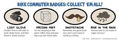 Bicycle Commuter Badges