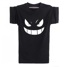 Pokemon Gengar Black Anime T-Shirt - OtakuForest.com