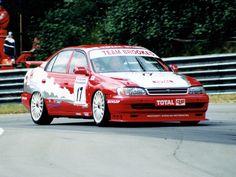 Toyota Carina 1996 BTCC Lee Brookes #motorsport #racing #touring #car #motor #sport #passion #toca #tour