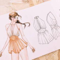 "( ""Bridal lingerie design 3 for this week Fashion Figure Drawing, Fashion Drawing Dresses, Fashion Illustration Dresses, Drawing Fashion, Fashion Illustrations, Fashion Design Sketchbook, Fashion Design Drawings, Fashion Sketches, Dress Design Drawing"