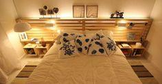 Quer economizar na decoração de sua casa? Use pallets
