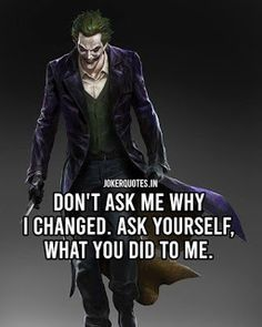 750+ Joker Quotes, Joker Quotes Wallpaper Page-9 - Brain Hack Quotes Thug Quotes, Real Life Quotes, Happy Quotes, Quotes Positive, Positive Mind, Quotes Quotes, Best Joker Quotes, Badass Quotes, Joker Qoutes